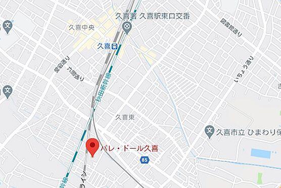 区分マンション-久喜市久喜東6丁目 地図