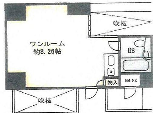 マンション(建物一部)-大阪市中央区南船場4丁目 間取り