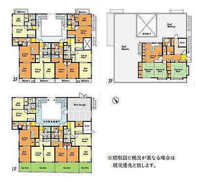 マンション(建物全部)-世田谷区千歳台2丁目 間取り