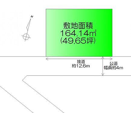 土地-名取市飯野坂7丁目 区画図