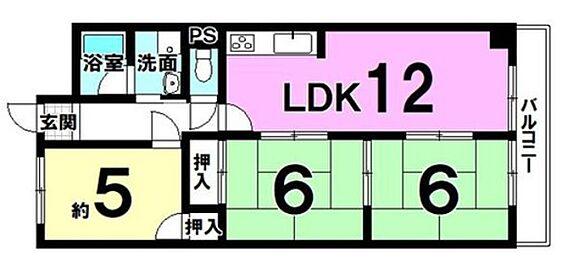 マンション(建物一部)-京都市伏見区横大路天王前 南向きバルコニー