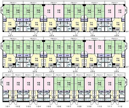 マンション(建物全部)-葛飾区小菅2丁目 1階1K12室、2階2DK6室、3階2DK6室