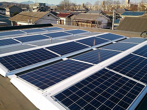 アパート-八王子市諏訪町 太陽光発電