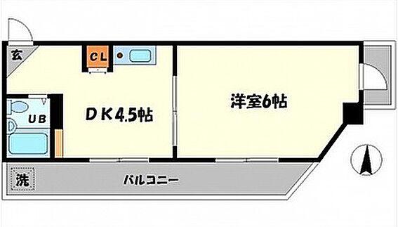 マンション(建物全部)-吹田市江坂町5丁目 間取り
