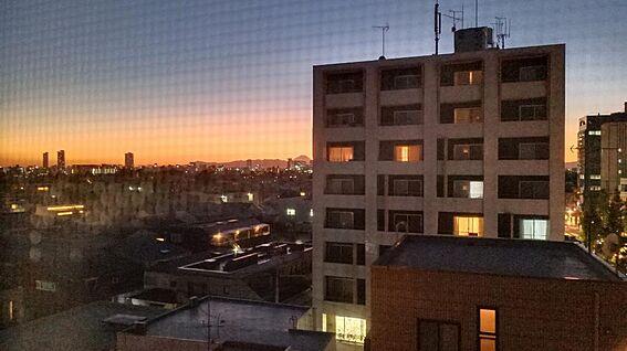中古マンション-新宿区下落合3丁目 キッチンからの眺望