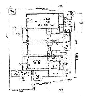 マンション(建物全部)-豊中市螢池北町2丁目 1階平面図