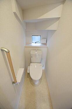 新築一戸建て-仙台市宮城野区栄2丁目 トイレ