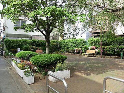 アパート-目黒区目黒本町4丁目 周辺環境:向原西街かど公園