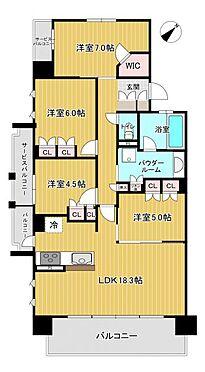 中古マンション-名古屋市緑区鳴子町2丁目 収納豊富な間取り