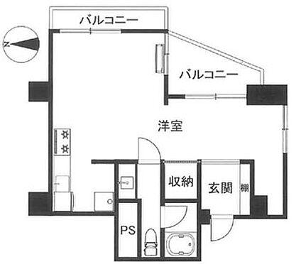マンション(建物一部)-渋谷区代々木3丁目 間取り