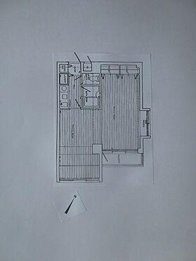 マンション(建物一部)-北九州市八幡西区折尾3丁目 バルコニーは南向。2K(洋室10帖・洋室9帖・K3帖)東南の角部屋です。
