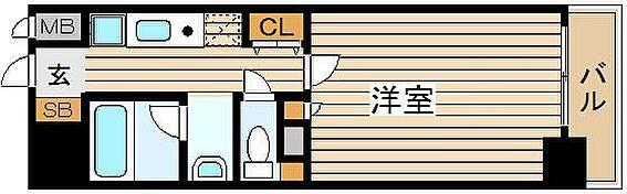 マンション(建物一部)-大阪市北区浮田1丁目 1Kで3点セパレートとひとり暮らしに便利な間取り。