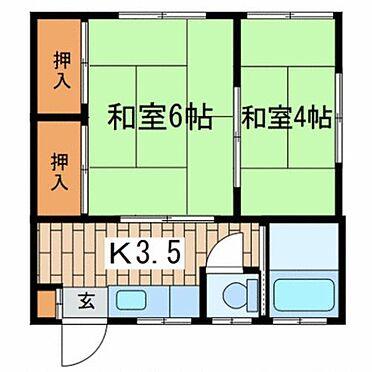 アパート-横浜市戸塚区平戸2丁目 間取り