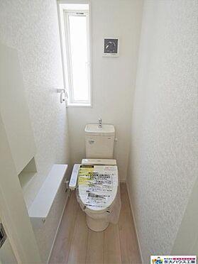 新築一戸建て-仙台市宮城野区鶴ケ谷6丁目 トイレ