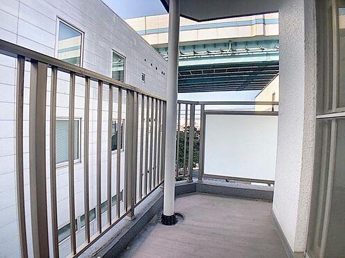 区分マンション-福岡市中央区港3丁目 北西側バルコニーです。