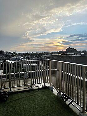 区分マンション-板橋区富士見町 夕暮れの眺望です