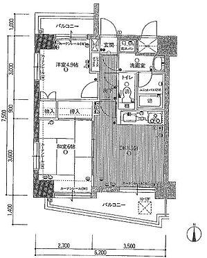 マンション(建物一部)-福山市御門町2丁目 間取り