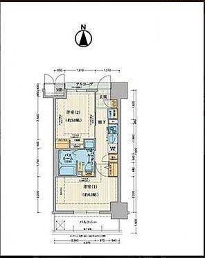 マンション(建物一部)-大阪市東成区中道2丁目 間取り