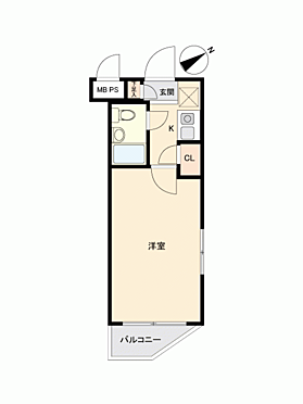 中古マンション-横浜市鶴見区東寺尾5丁目 間取り