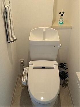 区分マンション-名古屋市南区豊田2丁目 トイレ