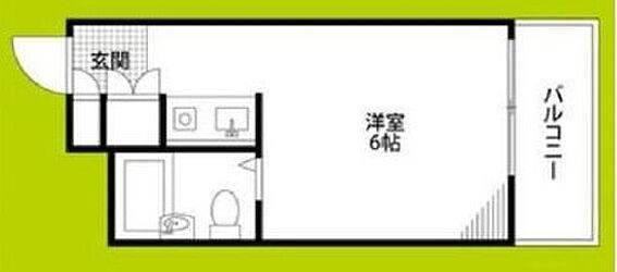 マンション(建物一部)-大阪市生野区勝山南4丁目 間取り