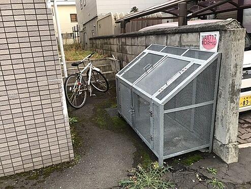マンション(建物全部)-札幌市中央区南七条西17丁目 ゴミ箱