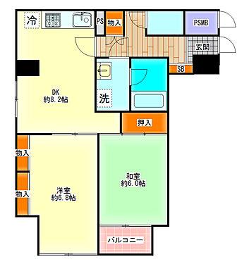 区分マンション-大阪市中央区島之内2丁目 図面より現況を優先します。