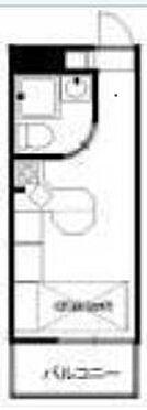 マンション(建物一部)-横浜市鶴見区岸谷1丁目 間取り