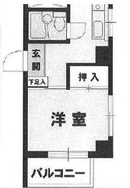 中古マンション-新宿区高田馬場4丁目 間取り