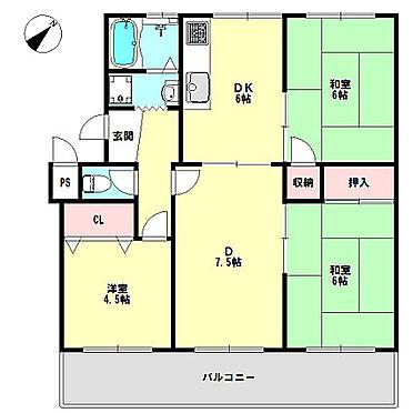 マンション(建物一部)-神戸市須磨区竜が台6丁目 4DK・南東向き