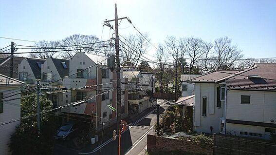 マンション(建物全部)-世田谷区下馬4丁目 3階より南東方向のロケーション2019.02.01撮影