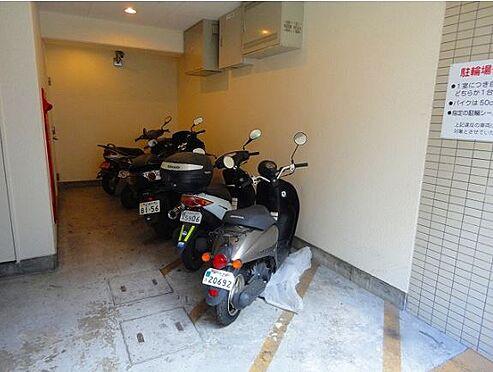 マンション(建物一部)-神戸市中央区雲井通4丁目 バイク置場があるから遠出も楽々です。