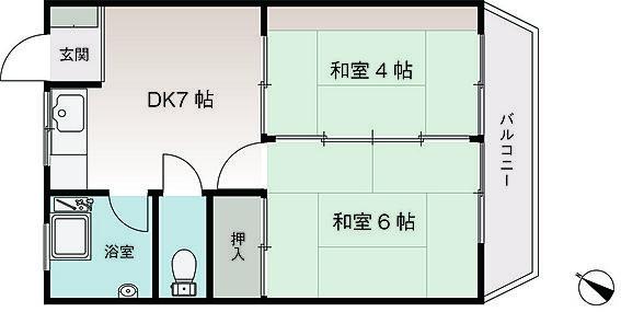 区分マンション-横須賀市武2丁目 反転有り