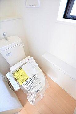 新築一戸建て-仙台市太白区金剛沢2丁目 トイレ