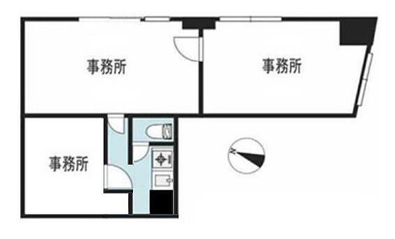 事務所(建物一部)-中央区日本橋蛎殻町1丁目 間取り