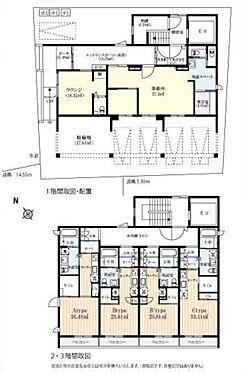 一棟マンション-横須賀市三春町1丁目 間取り