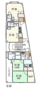 マンション(建物全部)-大田区大森中2丁目 3月階平面図 住居3戸