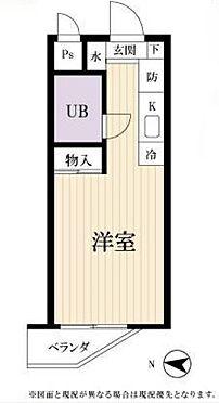 マンション(建物一部)-中野区中央3丁目 間取り図