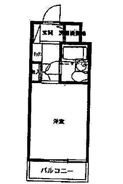マンション(建物一部)-横浜市神奈川区三枚町 間取り