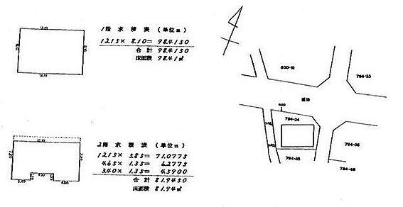 住宅付店舗(建物全部)-横浜市緑区東本郷3丁目 間取り