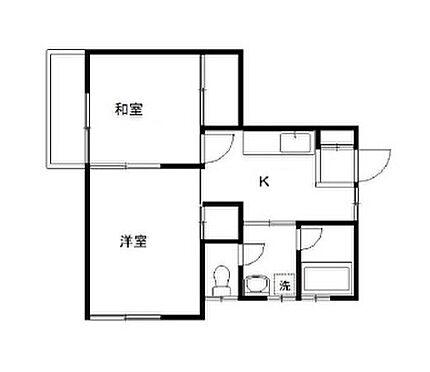 アパート-富士見市諏訪 間取り