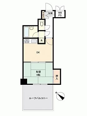 マンション(建物一部)-新潟市中央区上大川前通 間取り
