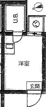 マンション(建物一部)-新宿区百人町2丁目 間取り