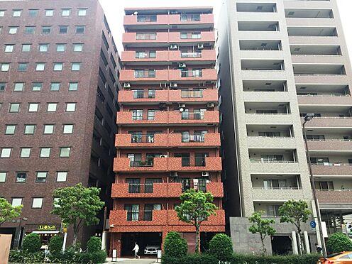 区分マンション-大阪市天王寺区上本町6丁目 レンガ調の外観