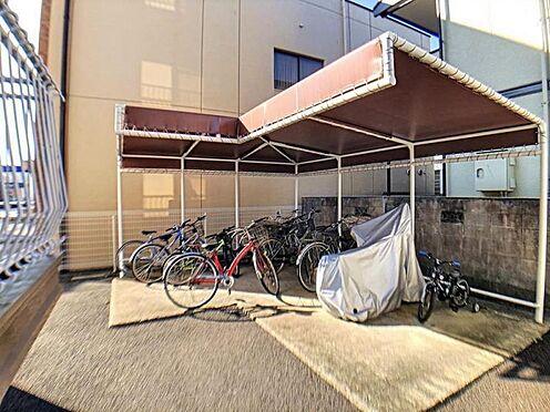 中古マンション-名古屋市天白区植田西1丁目 駐輪場です。