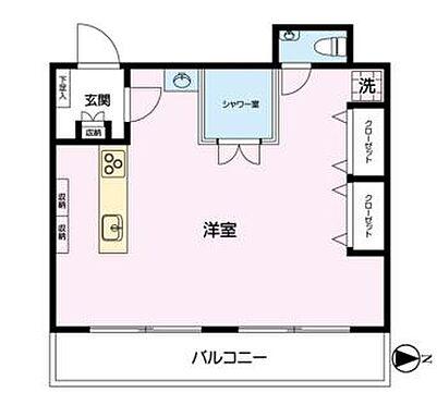 マンション(建物一部)-横浜市保土ケ谷区岩井町 間取り