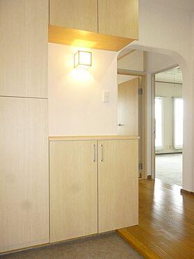 中古マンション-横須賀市グリーンハイツ 令和元年8月にリフォームした玄関下駄箱
