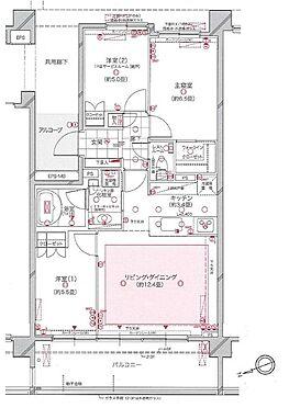 マンション(建物一部)-横浜市西区東久保町 間取り