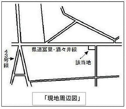 倉庫-富里市十倉 地図