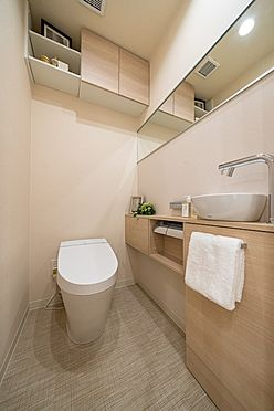 中古マンション-港区赤坂6丁目 手洗付タンクレストイレ